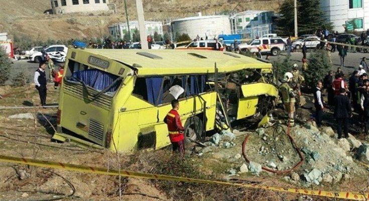 بیانیه حزب همت در پی واژگونی اتوبوس دانشگاه علوم و تحقیقات