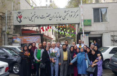 گزارش تصویری از بازدید اعضای حزب همت از آسایشگاه جانبازان حضرت امام خمینی (ره) و قدردانی از این غیور مردان عرضه دفاع از آرمانهای انقلاب