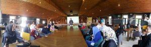 برگزاری اردوی مشترک آموزشی و افطار سازمان جوانان و سازمان بانوان به میزبانی دفتر حزب همت در شهرستان پردیس و اعطای حکم هیئت رئیسه دفتر حزب در این شهرستان