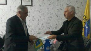 احکام هیئت رئیسه شهرستانهای استان تهران تحویل گردید.