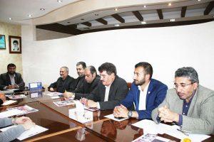 برگزاری جلسه اعضای شورای مرکزی حزب همت در استان آذربایجان شرقی و اهداء احکام