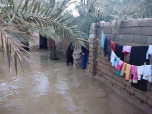 بازدید میدانی دبیر حزب همت استان خوزستان از مناطق سیل زده شادگان