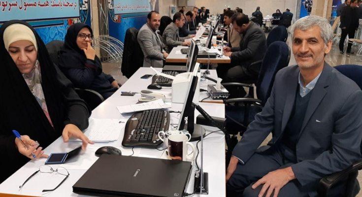 بهمن لامعی رامندی (مشاور دبیر کل) در ستاد مرکزی انتخابات ثبت نام کرد.