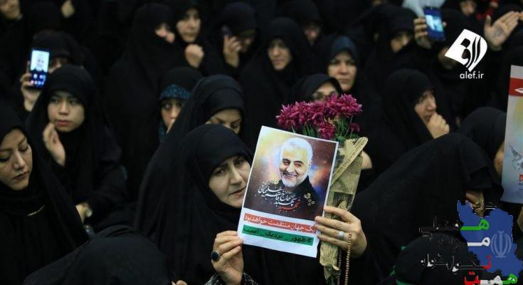 جانشین دبیر کل حزب همت:اقتدار و عزت جبهه مقاومت مدیون سردار سلیمانی است