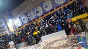 شور و هیجان هزاران تحول خواه در سالن 7000 نفری شهدای هفتم تیر