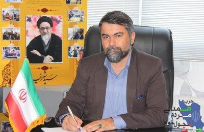 دکتر شهرام حسین نژاد دانشور مسئول شورای سیاستگذاری حزب همت در آ.ش