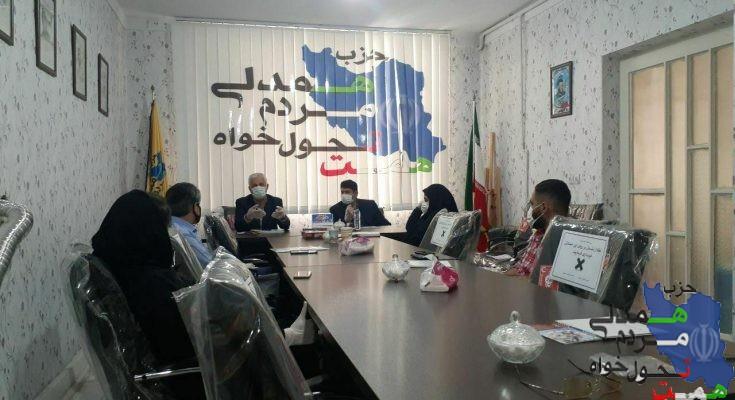 اولین جلسه سال جدید با موضوع مدیریت شهری تشکیل گردید