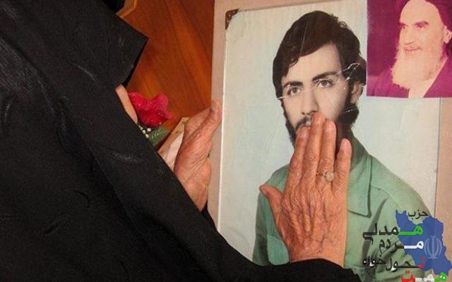 حاج همت امروز میزبان مادری درد کشیده می باشد