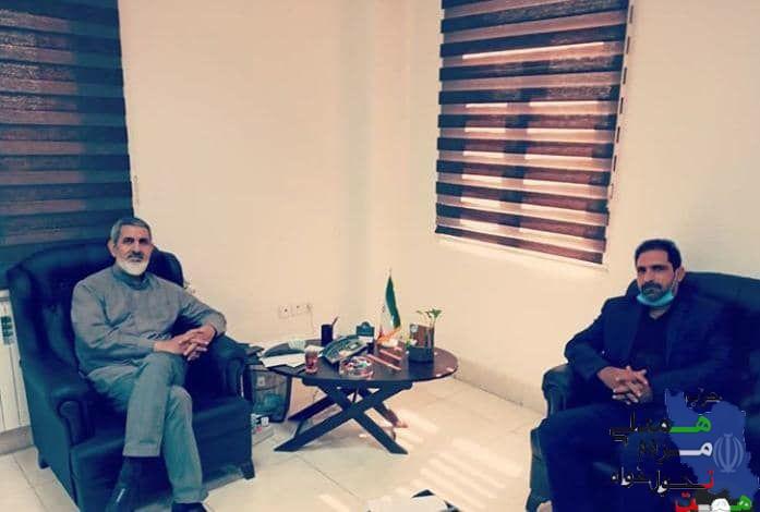 دیدار دبیر حزب همت گرمسار با رییس شورای اسلامی شهر گرمسار