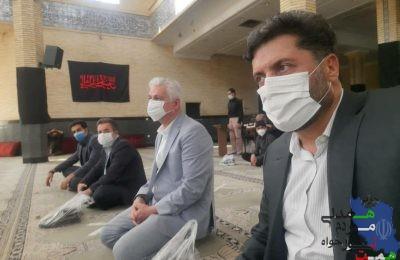 مسئولان حزب همت در نماز جمعه ملارد