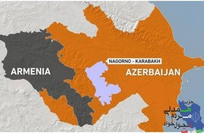 ''اختلافات ارضی دو همسایه ایران''