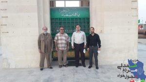 گزارش تصویری از دیدارشورای مرکزی و دبیر استانی حزب همت خوزستان از اروند کنار
