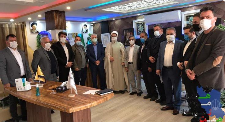 نشست هم اندیشی مسئولان شهرستان اسلامشهر حزب همت برگزار شد.