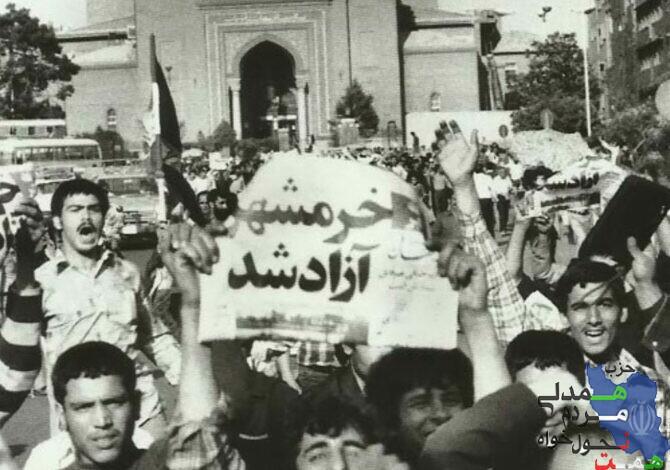 """"""" نسل امروز باید از آزادی خرمشهر بداند"""""""