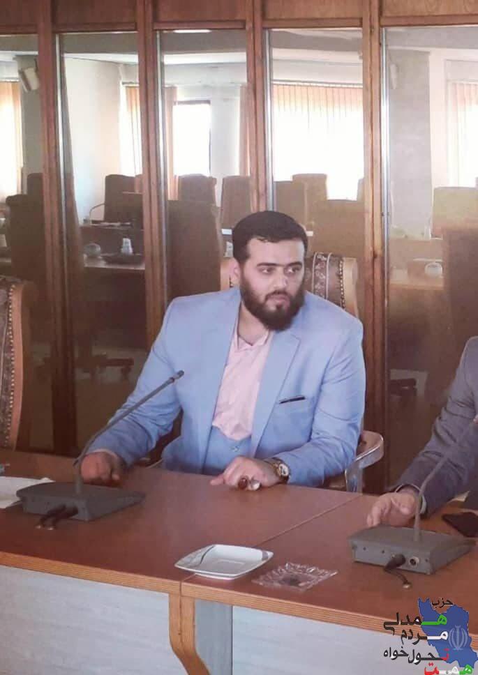 بیانیه مسئول خوزستان حزب همت خظاب به مردم شریف خوزستان